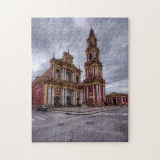 Church Of Saint Francis In Salta Jigsaw Puzzle
