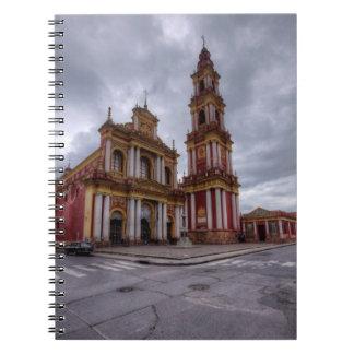Church Of Saint Francis In Salta Notebook