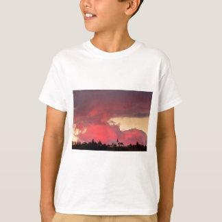 Church of Saint Nicholas at sunset T-Shirt