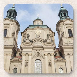 Church of Saint Nicholas Prague souvenir photo Coaster
