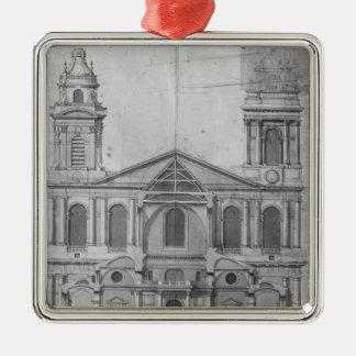 Church of Saint-Sulpice Christmas Ornament