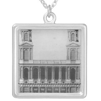 Church of Saint-Sulpice Silver Plated Necklace