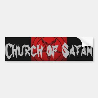 CHURCH OF SATAN BUMPER STICKER