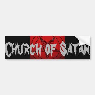 CHURCH OF SATAN BUMPER STICKER
