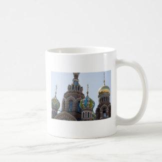 Church of Savior on Spilled Blood Russia Basic White Mug