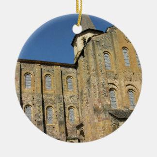 Church of St. Foy, begun c.1050 by Abbot Odolric ( Christmas Ornament