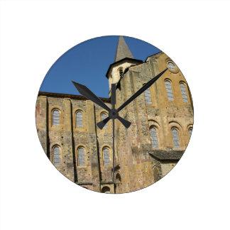 Church of St. Foy, begun c.1050 by Abbot Odolric ( Round Clock