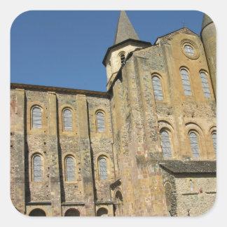 Church of St. Foy, begun c.1050 by Abbot Odolric ( Square Sticker