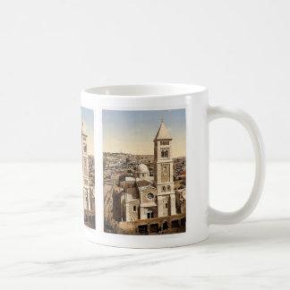 Church of St. Saviour, Jerusalem, Holy Land rare P Basic White Mug