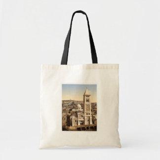 Church of St. Saviour, Jerusalem, Holy Land rare P Budget Tote Bag