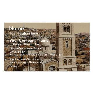 Church of St. Saviour, Jerusalem, Holy Land rare P Pack Of Standard Business Cards