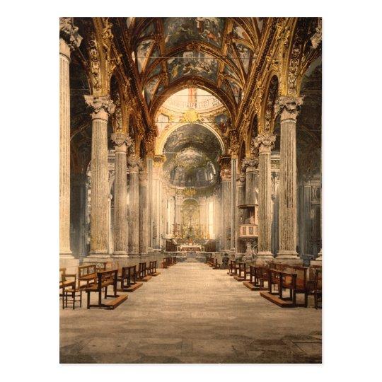 Church of the Annunciation, Genoa, Liguria, Italy Postcard