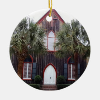 Church of the Cross - Bluffton, South Carolina Christmas Ornament