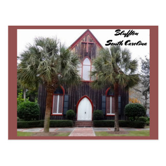 Church of the Cross - Bluffton, South Carolina Postcard