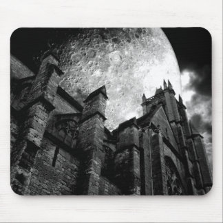 Church of the full moon mouse mat