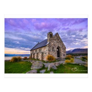 Church of the Good Shepherd Lake Tekapo NZ Postca Postcards