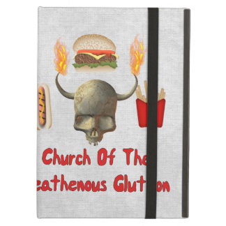Church Of The Heathenous Glutton iPad Cover
