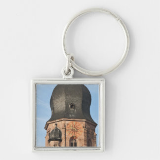 Church of the Holy Ghost in Old Town Heidelberg Key Ring