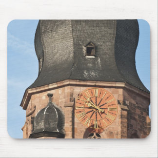 Church of the Holy Ghost in Old Town Heidelberg Mouse Pad