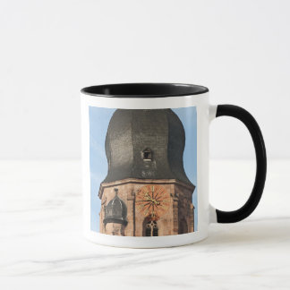 Church of the Holy Ghost in Old Town Heidelberg Mug