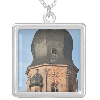 Church of the Holy Ghost in Old Town Heidelberg Silver Plated Necklace