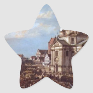 Church of the Holy Sacrament in the New Town Star Sticker
