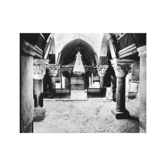Church of the Holy Sepulcher in Jerusalem Canvas Prints