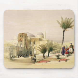Church of the Holy Sepulchre, Jerusalem, plate 11 Mouse Pad