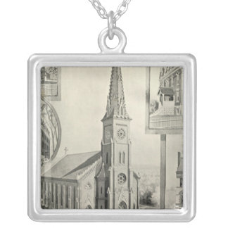 Church of the Immaculate Conception, Waterbury Silver Plated Necklace