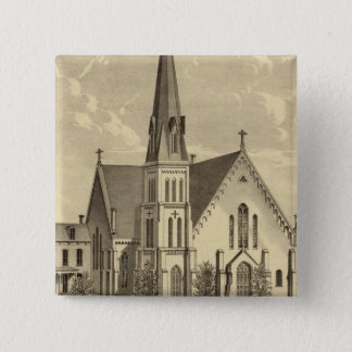 Church of the Sacred Heart East Liberty 15 Cm Square Badge