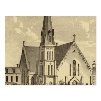 Church of the Sacred Heart East Liberty Postcard