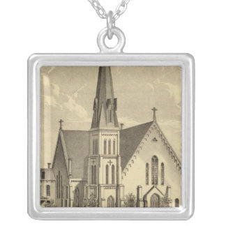 Church of the Sacred Heart East Liberty Silver Plated Necklace