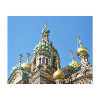 Church of the Savior on Blood, St.Petersburg Canvas Print