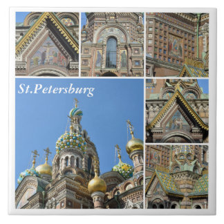 Church of the Savior on Blood, St.Petersburg Tile