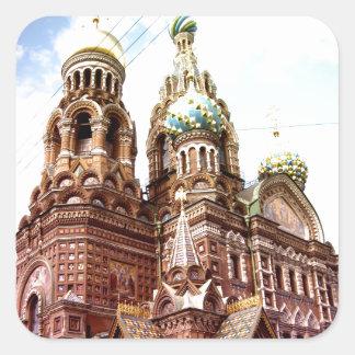 Church of the Savior on Blood Sticker