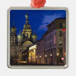 Church of the Saviour of Spilled Blood 3 Christmas Ornament