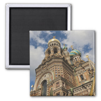 Church of the Saviour of Spilled Blood 4 Square Magnet
