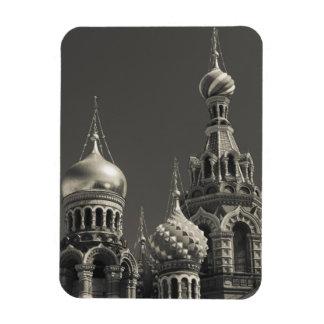 Church of the Saviour of Spilled Blood 5 Rectangular Magnets