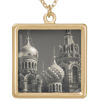 Church of the Saviour of Spilled Blood 5 Gold Plated Necklace