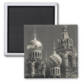 Church of the Saviour of Spilled Blood 5 Square Magnet