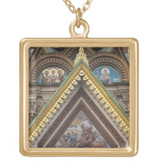 Church of the Saviour of Spilled Blood Gold Plated Necklace
