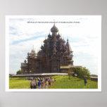 Church of the Transfiguration / Kizhi / Russia Poster
