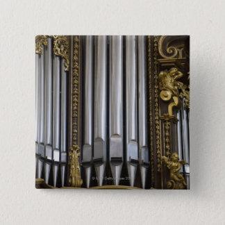 Church Organ 15 Cm Square Badge