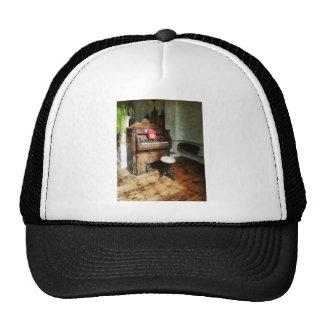 Church Organ With Swivel Stool Hats
