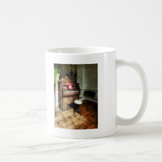 Church Organ With Swivel Stool Coffee Mugs