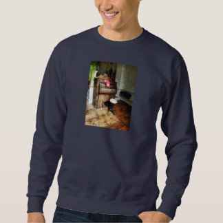 Church Organ With Swivel Stool Sweatshirt