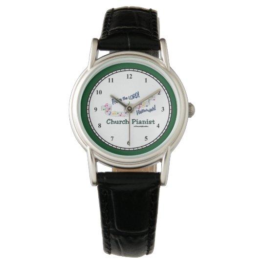 Church Pianist CN Wrist Watch