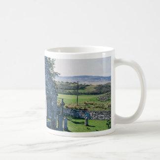 Church ruins, Islay, Scotland Basic White Mug