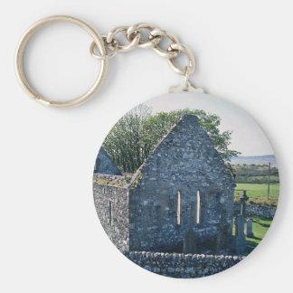 Church ruins, Islay, Scotland Key Chain