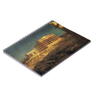 """Church's """"Parthenon"""" notebook"""